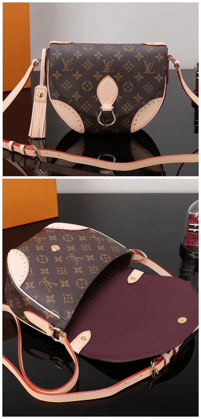 283da9b74625 Louis Vuitton Saint Cloud M41481 Brown. LV 2017 collection. Big Discount.   LV  Monogram  Handbag.