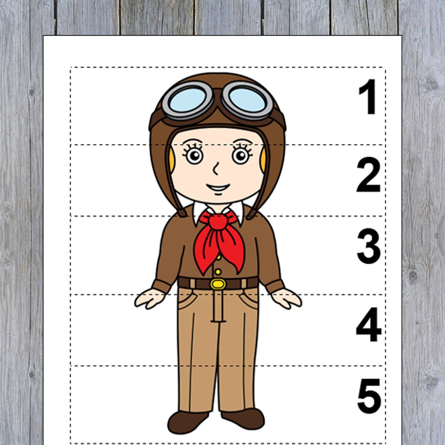 10 Famous Women In History Number Sequence 1 5 Preschool