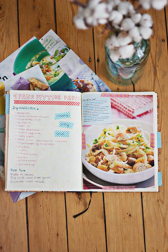 eigen receptenboek maken