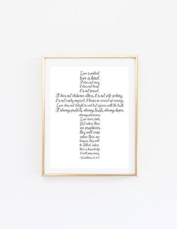 1 Corinthians 13 printable, 1 Corinthians 13 sign, 1