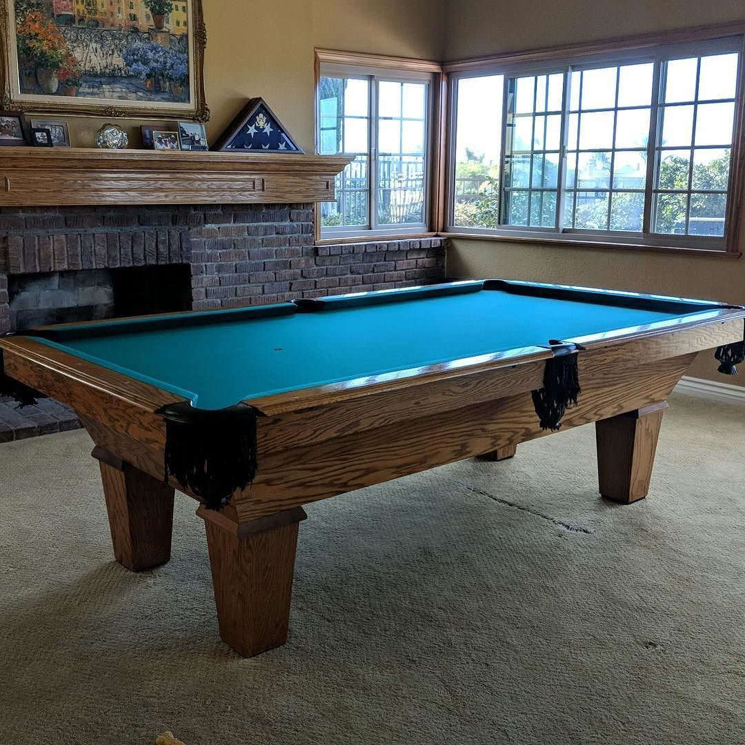 How To Refelt A Piece Slate Pool Table Wwwmicrofinanceindiaorg - World of leisure pool table