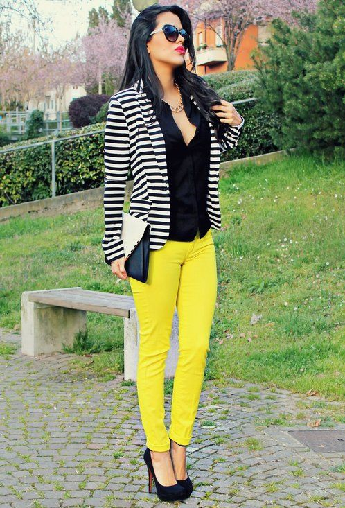 be1a6ae403b9 Black and White Fashion Trends | My SWAG... | Fashion, Style, Blazer ...