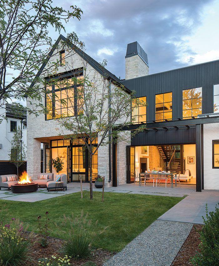 A Spacious Modern Farmhouse In Denver Colorado Homes Lifestyles Modern Farmhouse Exterior Farmhouse Architecture Dream House Exterior