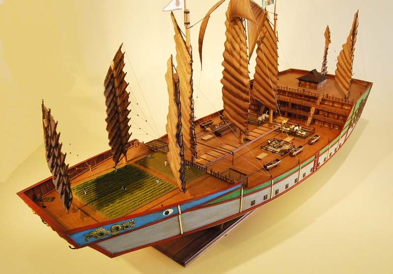 Zheng He Ship Replica Zheng He Treasu...
