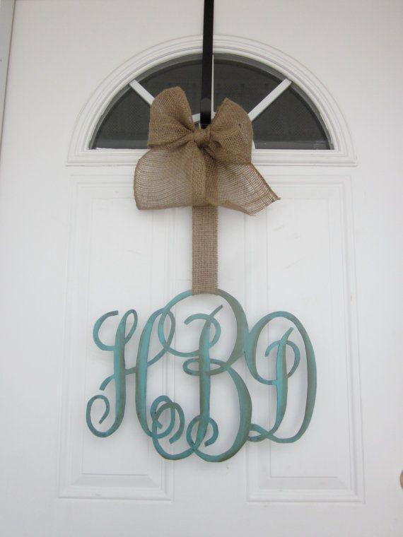 Monogram for door