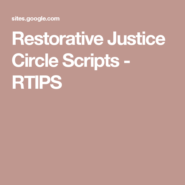 restorative justice circle scripts rtips se discipline  high school essay on discipline you have not saved any essays school discipline a closer look into our educational system it is clear that students