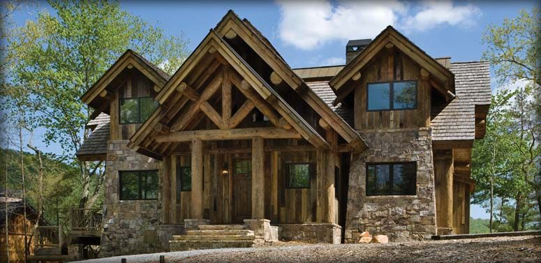 PrecisionCraft Post and Beam Homes | Timber Framed Homes