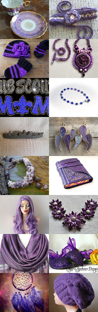 Purple Power by Erinn LaMattery on Etsy--Pinned with TreasuryPin.com