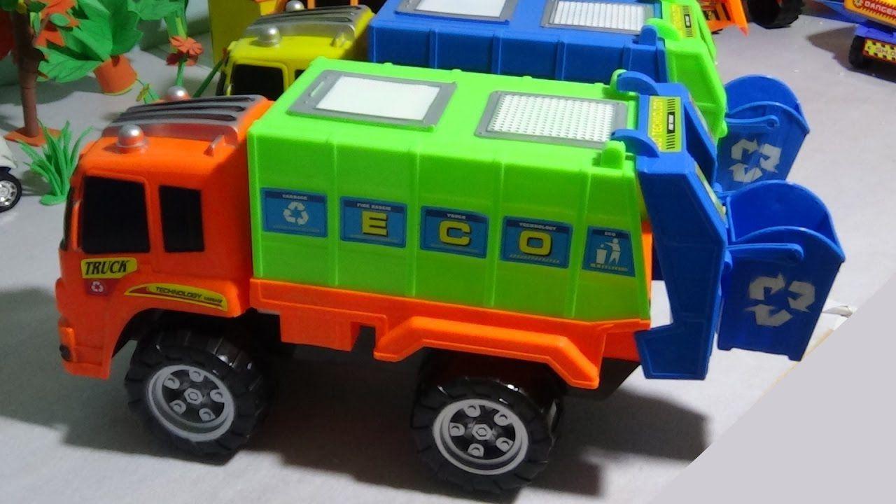 Camiones De Basura Para Ninos En Espanol Video Camion Dela Basura De J Camion De Basura Juguetes Para Ninas Camiones De Juguete