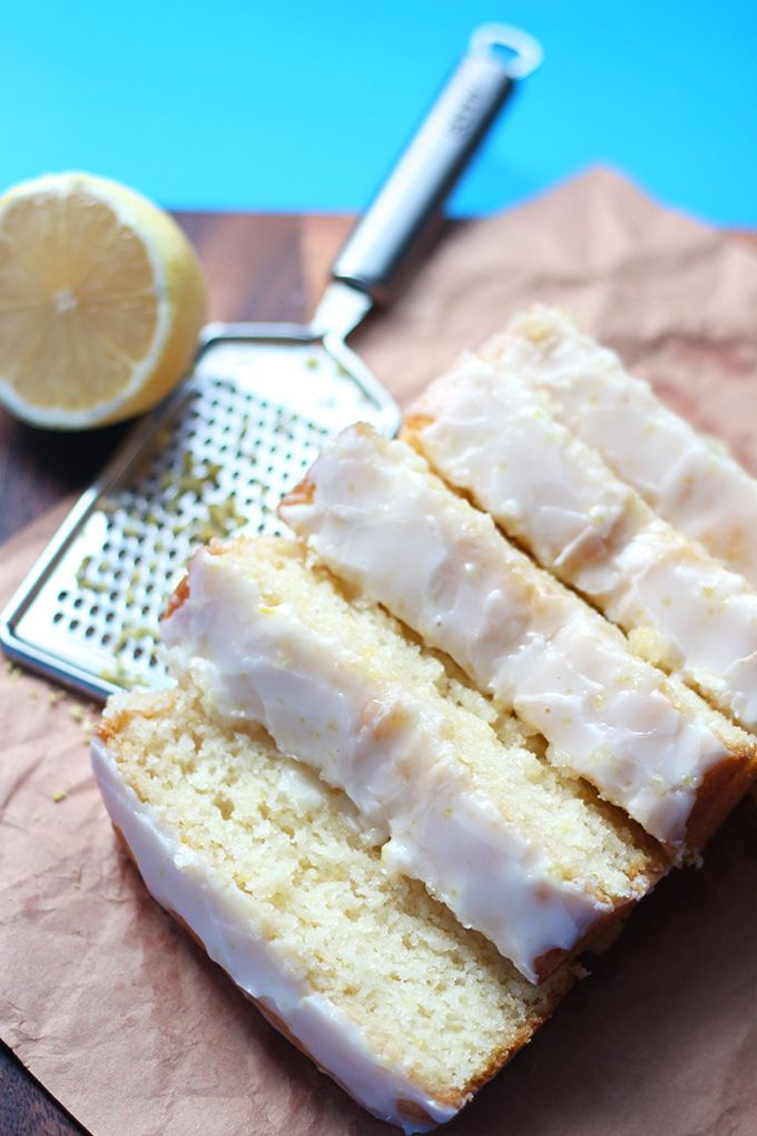 Easy Vegan Lemon Loaf