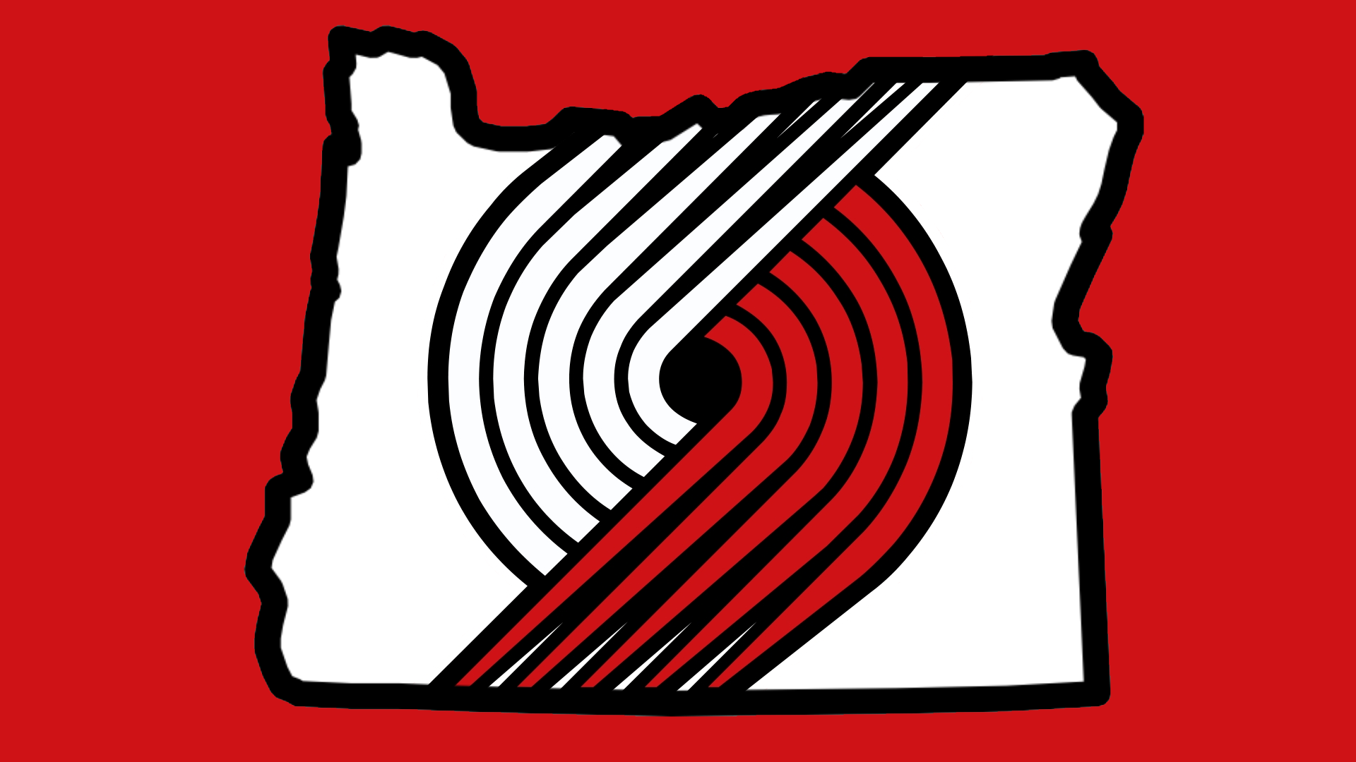 newest ea3c5 f6fbc Portland Trail Blazers Logo Wallpaper   In preparation for the upcoming NBA  season I created a wallpaper to .
