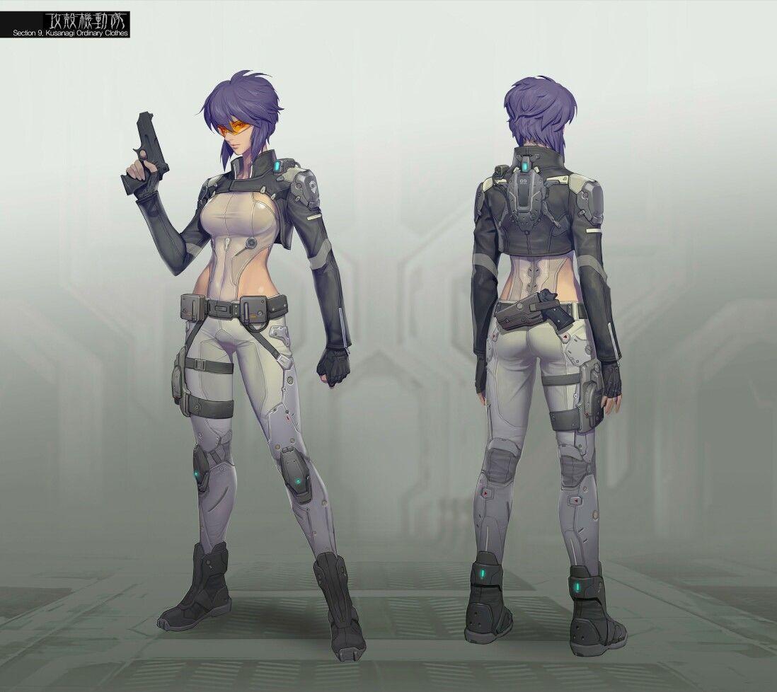 Ghost In The Shell, Cyberpunk
