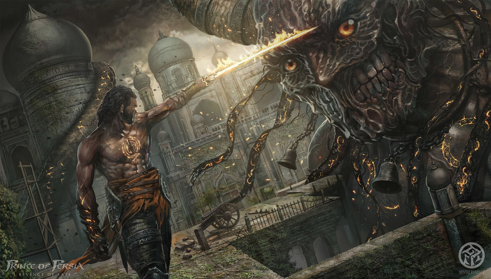 Prince Of Persia Revenge Of Fate Concept 04 Aboy Ningthouja On