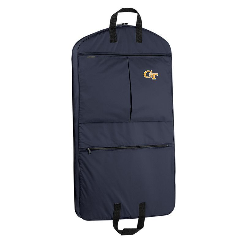 WallyBags Georgia Tech Yellow Jackets 40-Inch Garment Bag, Blue