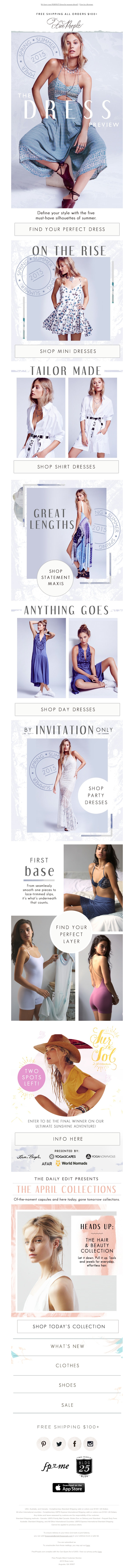 Free People - Introducing: Your Perfect Summer Dress