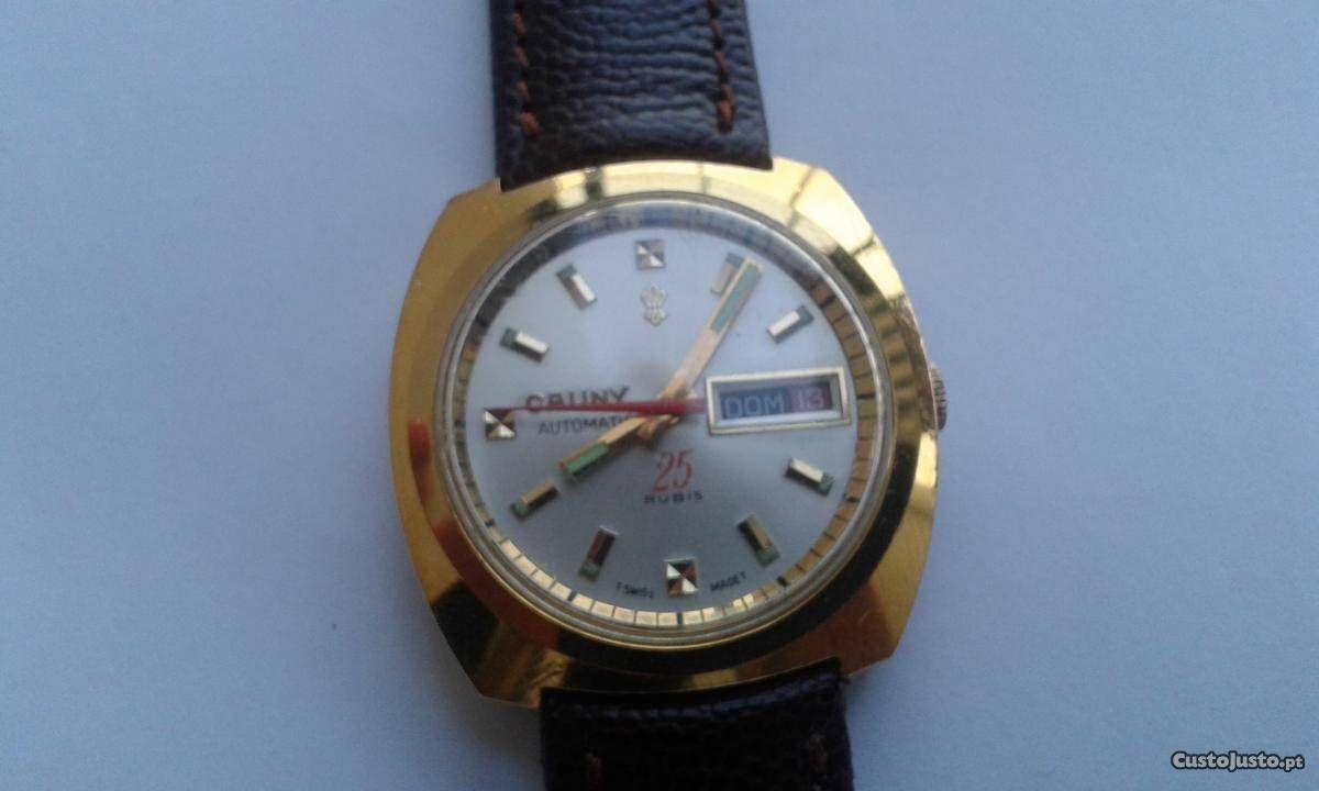 6f1a96607f8 Relógio automático Cauny