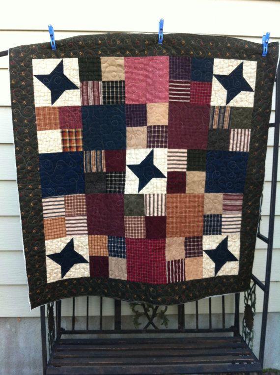 Custom made Keepsake Memory Quilt from Sentimental Clothing ... : rustic quilt patterns - Adamdwight.com