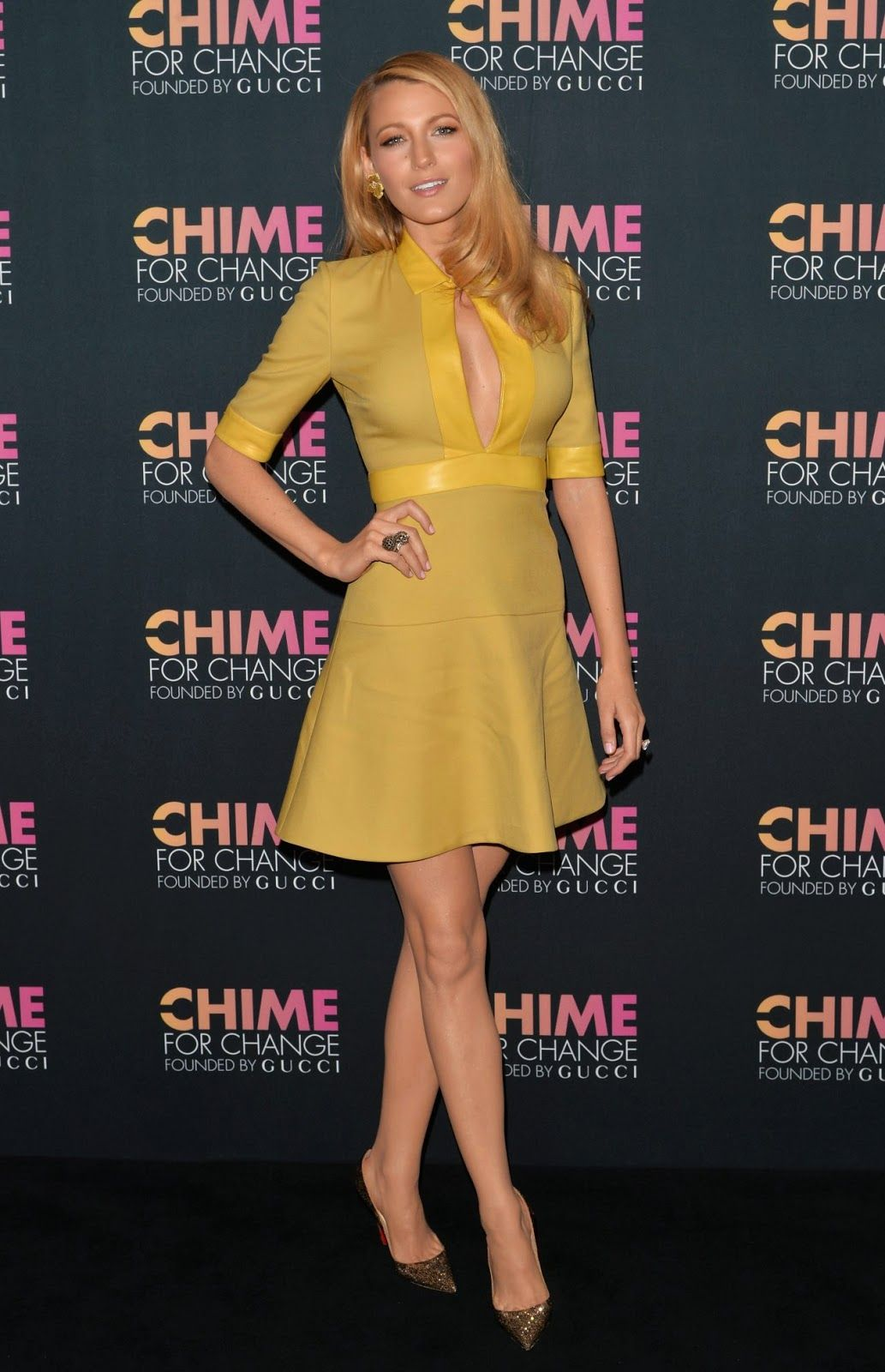 Blake Lively – 2014 CHIME FOR CHANGE Event in New York City | Blake ...