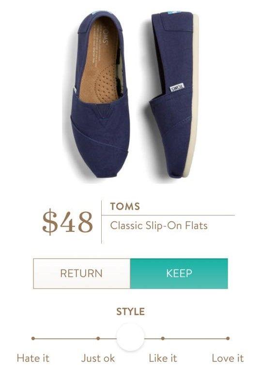 TOMS Classic Slip On Flats from Stitch Fix. https://www.stitchfix.com/referral/4292370   Supernatural Style