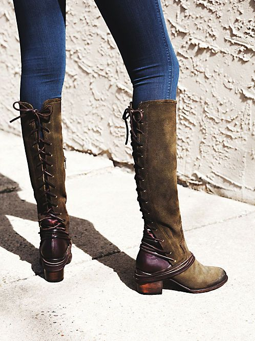 FP Collection Memphis Lace Up Boot at Free People Clothing Boutique