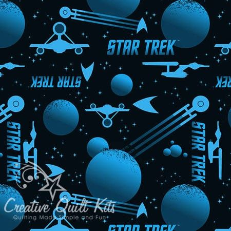 Blue+Star+Trek+Silhouettes,+Star+Trek+Universe+Collection+Warner+Brothers+Licensed+Products+by,+Camelot+Cottons+at+Creative+Quilt+Kits  www.creativequiltkits.com Save 10% off your Order when you enter code- PINTEREST10 at check out!!