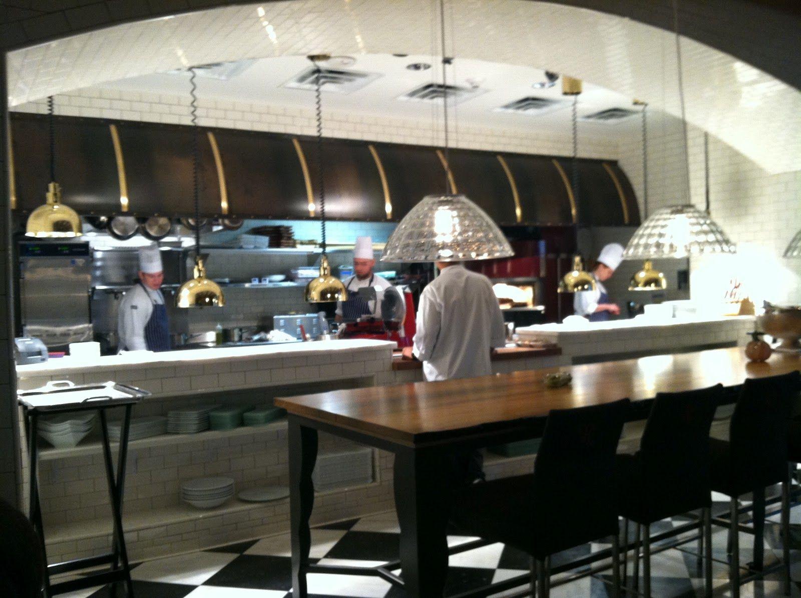 Restaurant Kitchen Design Art Open Cafe Layout