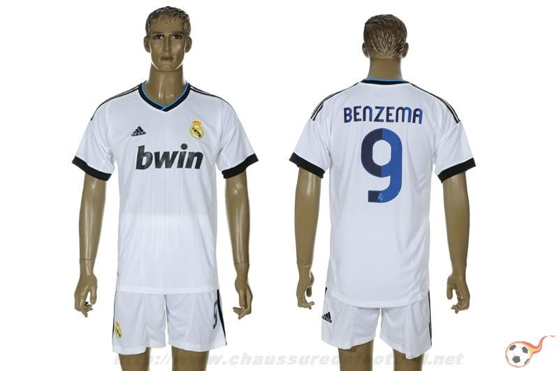 Real Madrid Maillot Benzema 9 Domicile 2012-2013 FT4423