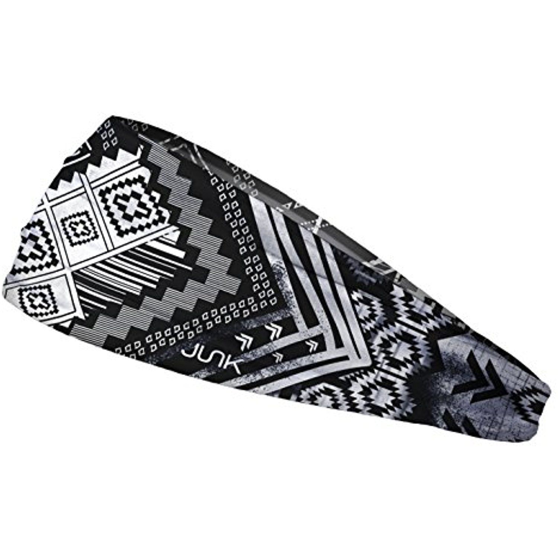 Regular Width JUNK Brands Apache Noir Flex Tie Headband