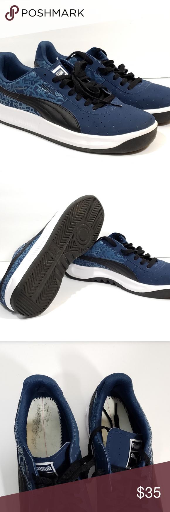 low priced ac02a 2f79d Puma Mens GV Special Sneaker Shoe Dark Blue Puma Mens GV ...