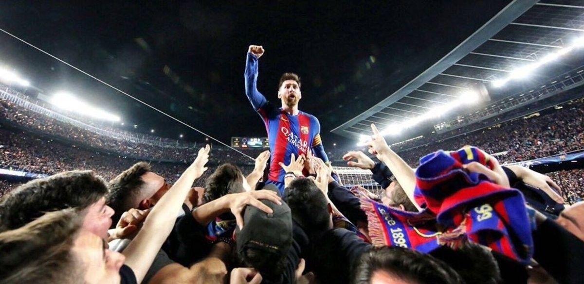 Foto para la historia del fútbol.  Autor: Miguel Ruiz (FCB)