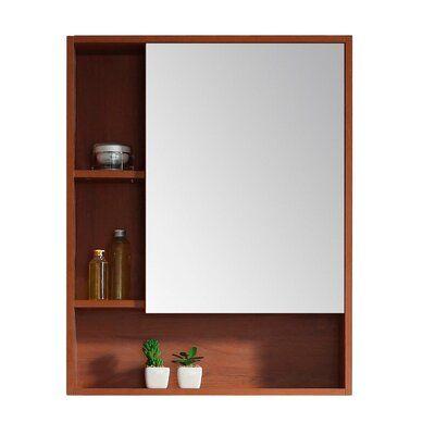 Modern Rustic Interiors Lee Left Handed 24 x 30 Surface Mount Framed Medicine Cabinet #modernrusticinteriors