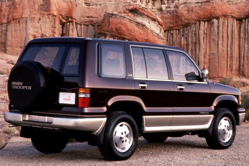 1992 02 isuzu trooper consumer guide auto trooper wagon pinterest rh pinterest com Auto Insurance Auto Loan