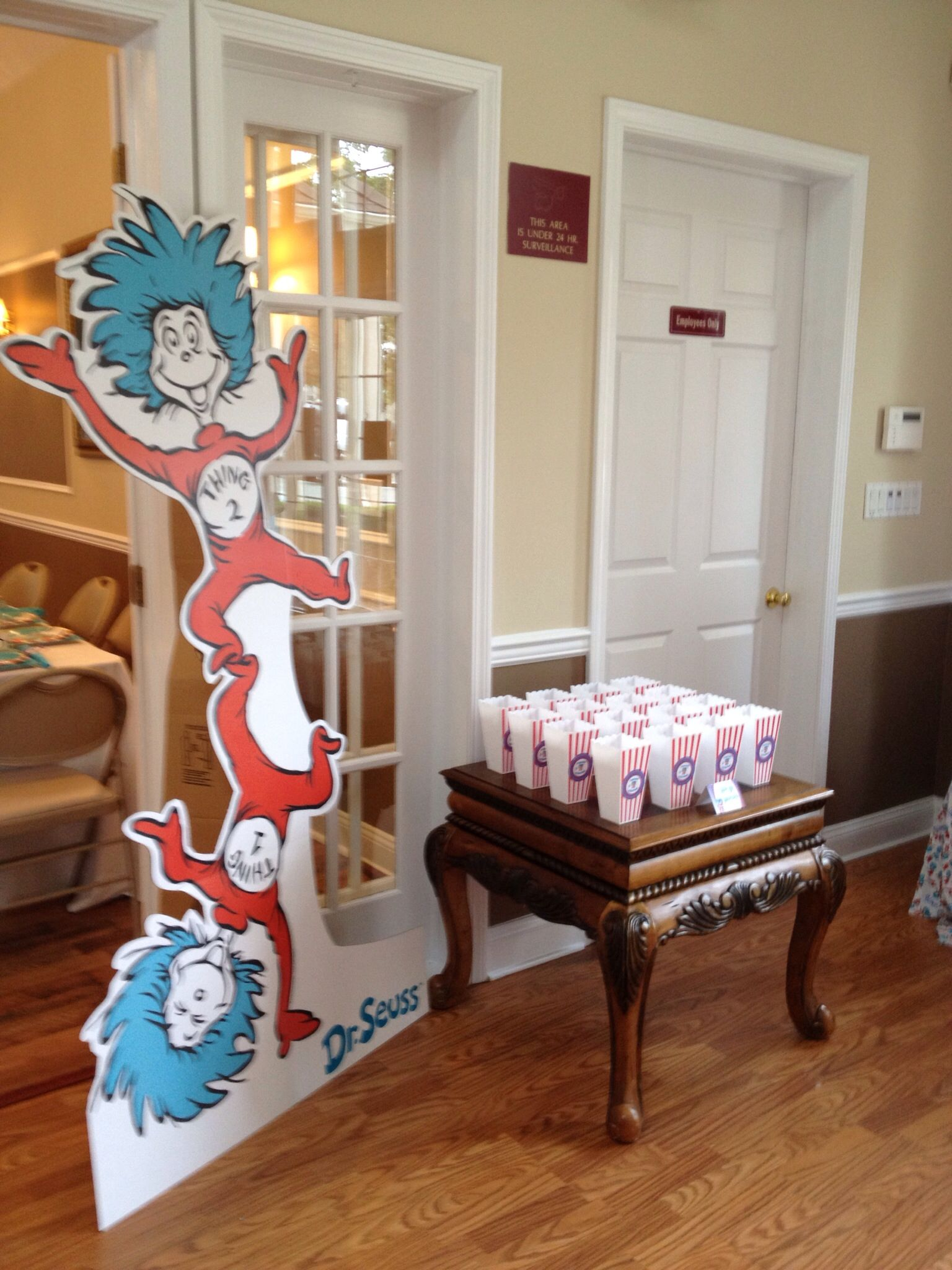 Thing 1 And Thing 2 Popcorn Home Decor Decals Decor Home Decor