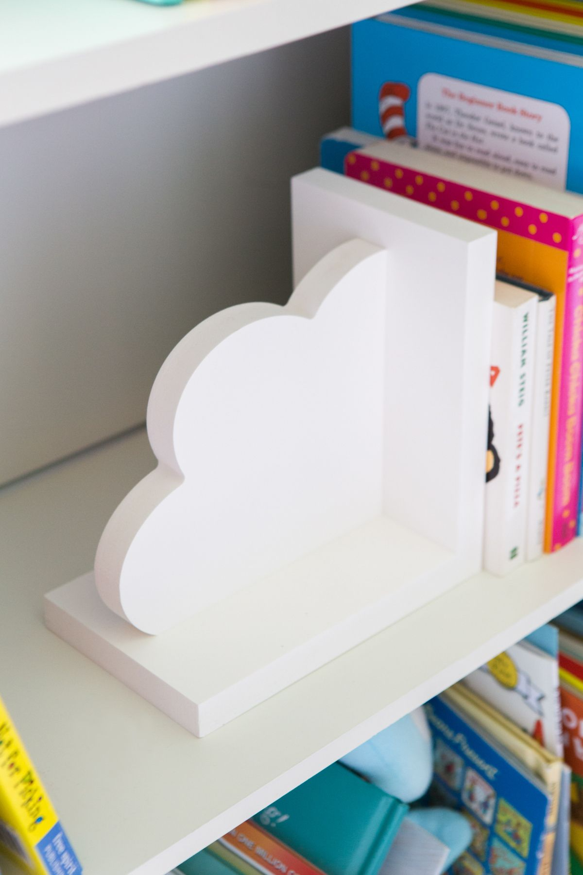 Cloud Bookends for Kids Room Baby Nursery Decor Bedroom Book End ...