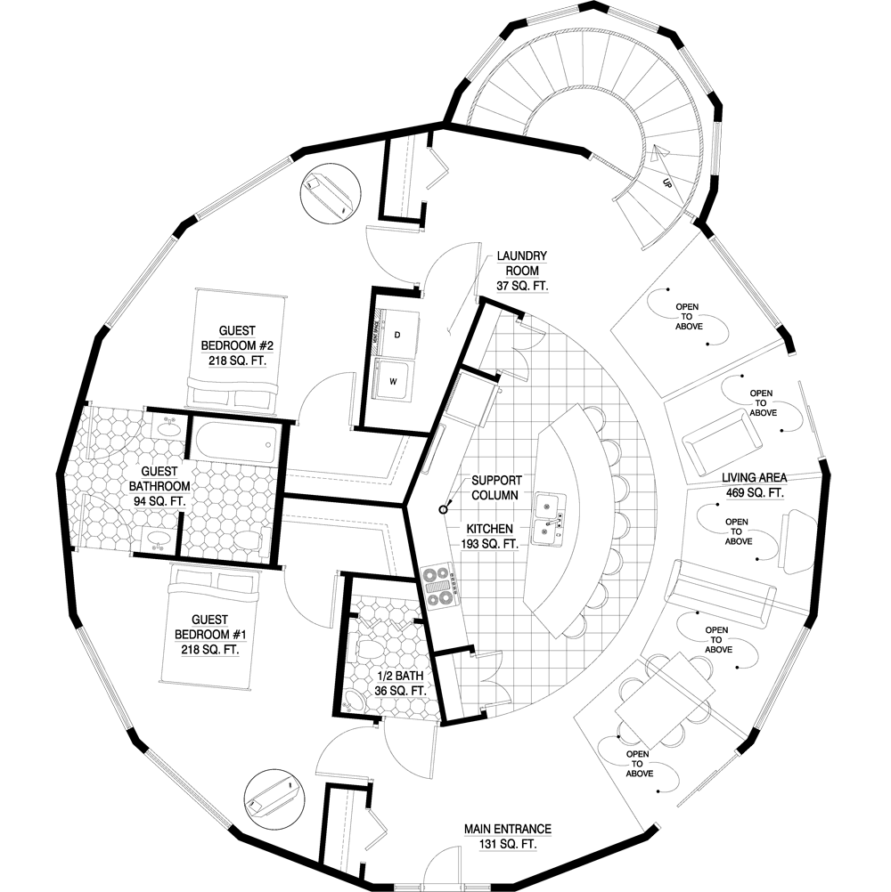 Deltec Homes- Floorplan Gallery | Round Floorplans | Custom ... on unusual home building, weird house floor plans, frame a small house plans, unique open floor plans, small houses floor plans, unique house floor plans, architectural house floor plans, unusual prefab homes, unusual modular homes, unusual kitchen designs, library floor plans, treehouse masters floor plans, unusual home design, unusual home features, unusual travel trailer floor plans, unusual home flooring, design floor plans, unusual home interiors,