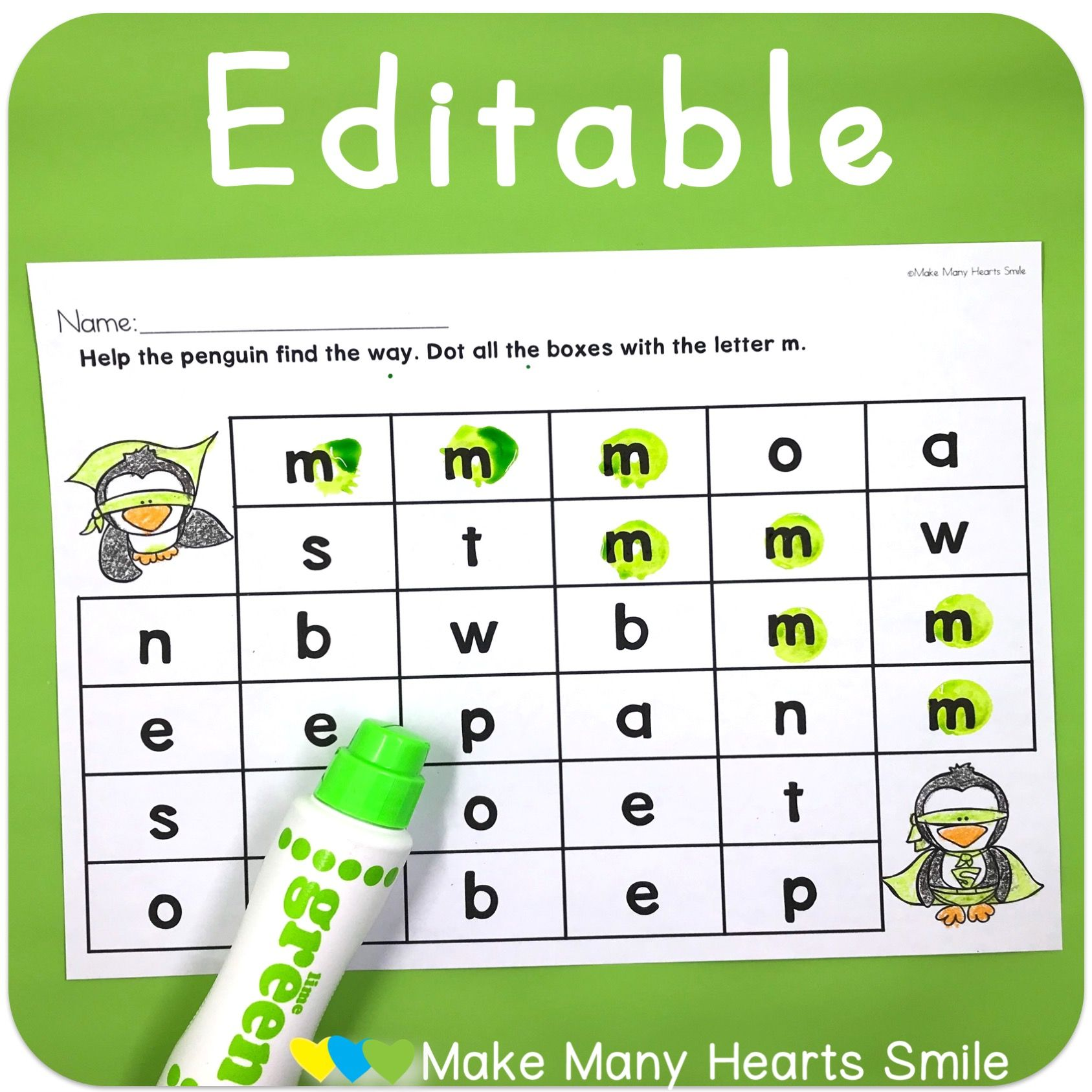 Fun Letter Recognition Worksheets My Kids Love Bingo