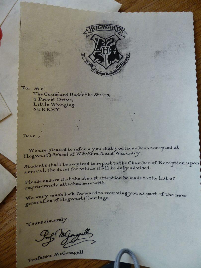 harry potter geburtstagseinladung vorlage