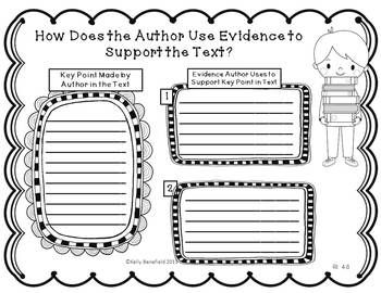 Common Core Reading Informational Text Graphic Organizers. Great to use with almost any nonfiction book! $