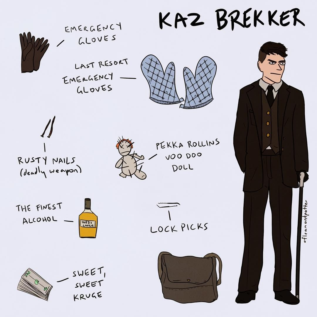 Six Of Crows On Instagram Kaz Leaned Back What S The Easiest Way To Steal A Man S Wallet Knife To The Throat Asked I Six Of Crows Crow Crooked Kingdom