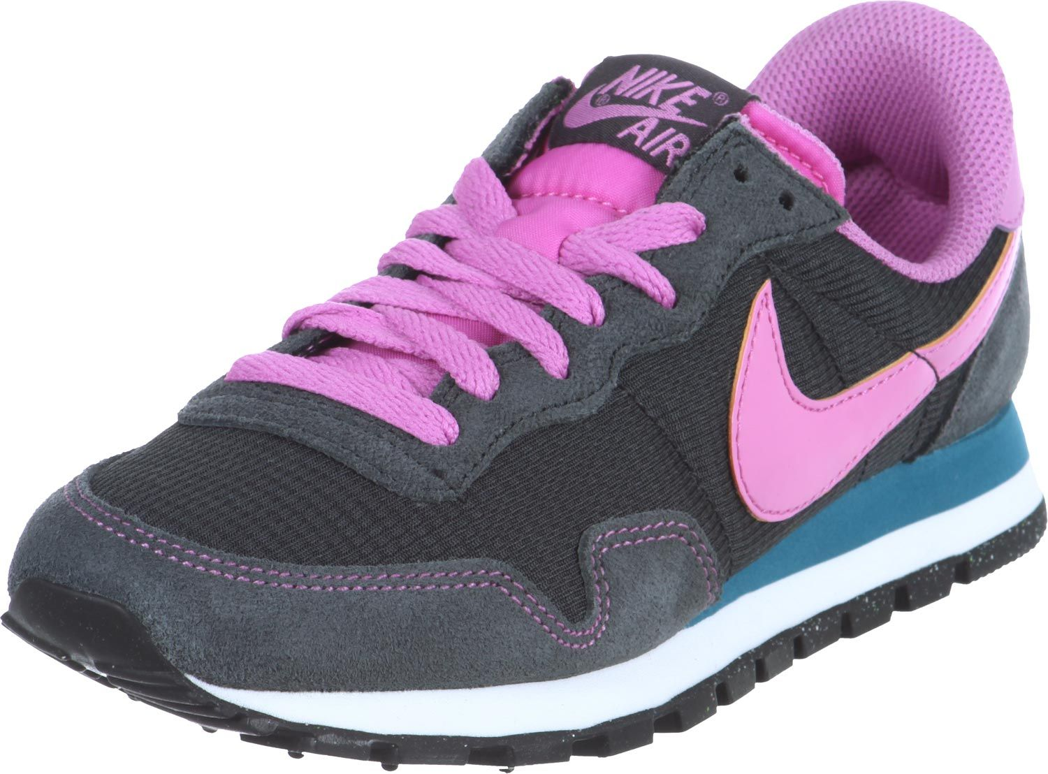 nike internationalist w schuhe grau pink