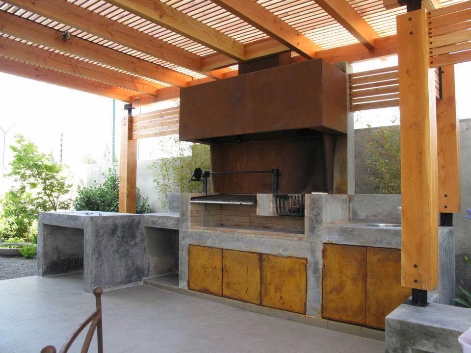 Quinchos chile arquitectura desde 2007 quincho - Barbacoa diseno moderno ...