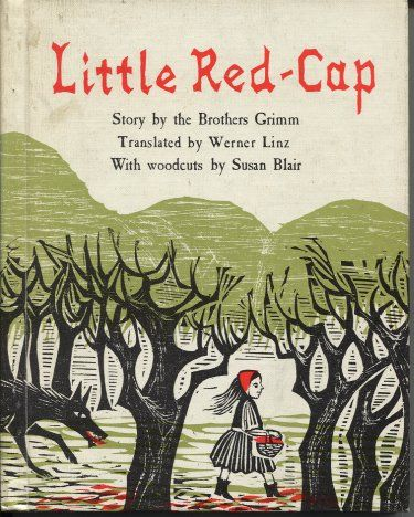 My Other Favorite Fairy Tale Little Red Cap Is The Original Name