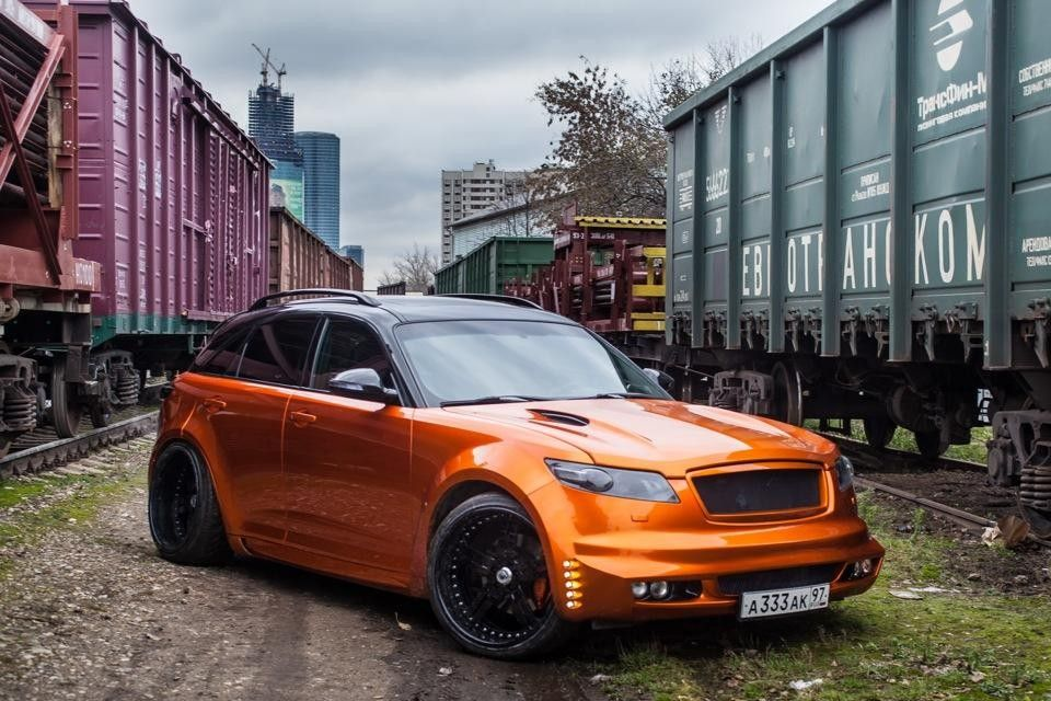 Infiniti Fx Muskulistyj Apelsin With Images World Action Master