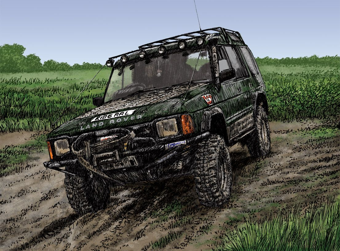 Land Rover Discovery Lifted 4x4 Pinterest