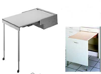 Pull Out Kitchen Table pull out & fold down table. other kitchen space enlargements can