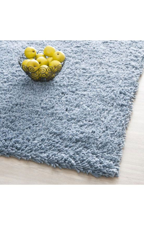 $5 Off when you share! Safavieh Shag SG240 Light Blue Rug | Solid & Striped Rugs #RugsUSA