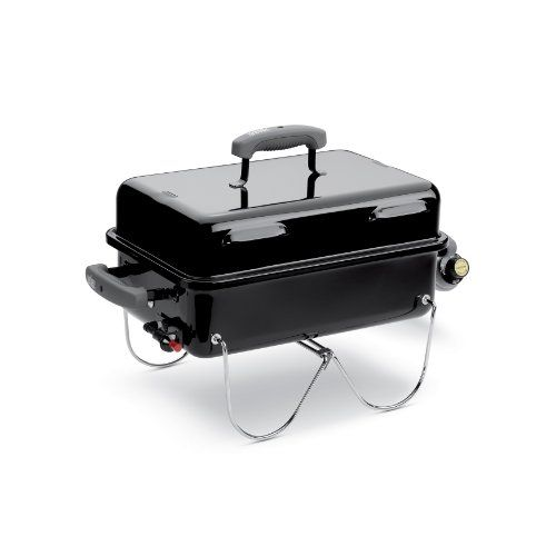 Weber 1141001 Go Anywhere Gas Grill Portable Charcoal Grill