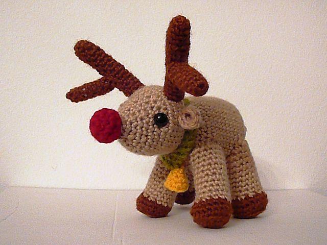 Amigurumi Reindeer Free Pattern : Amigurumi reindeer free crochet pattern on ravelry amigurumi