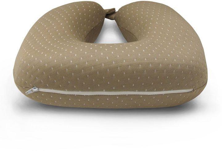 Sensorpedic luxury u-neck support firm memory foam travel pillow