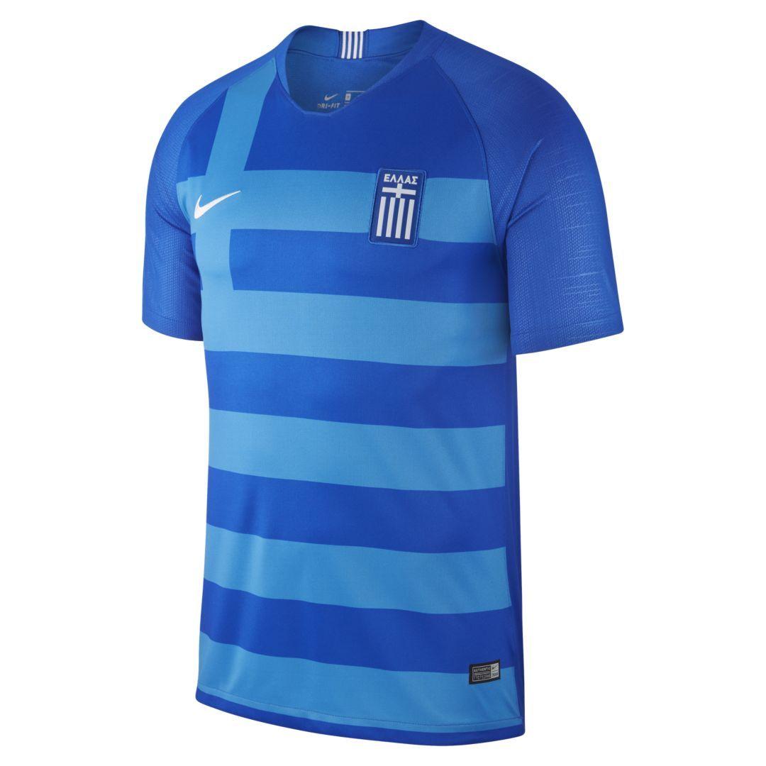 2018 Greece Stadium Away Men s Soccer Jersey Size M (Hyper Cobalt ... 9218d939d